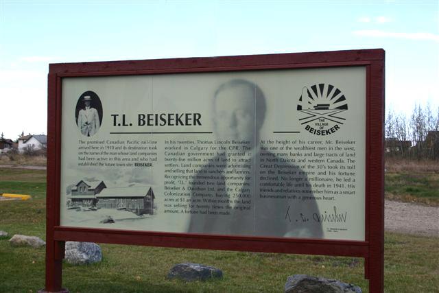 Mr. Beiseker sign